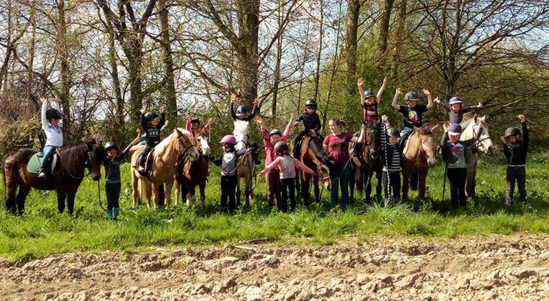 Evenement anniversaire a Cheval a Bavay