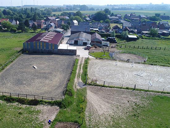 Equitation western dans le Hainaut